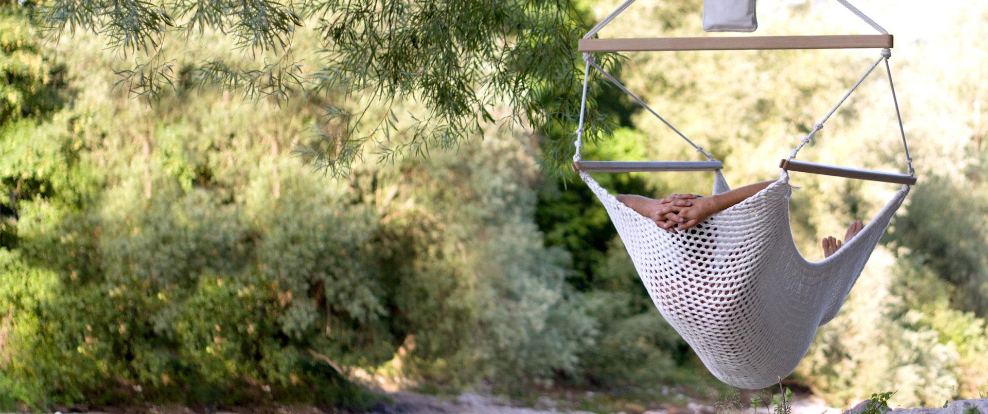 Ökologische Entspannungsmöbel von Mira Art